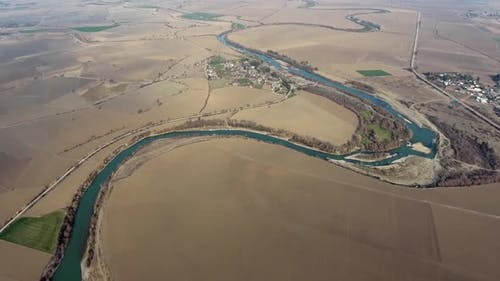Aerial Big River