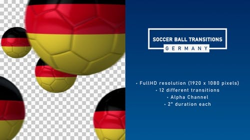 Soccer Ball Transitions - Germany