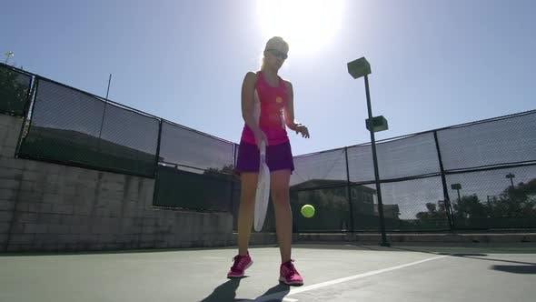 Thumbnail for Women playing tennis.