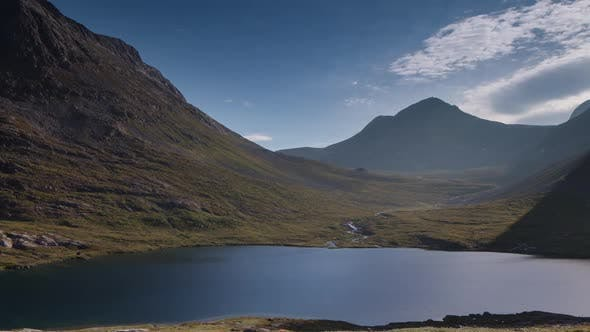 Trollstigen Pass Lake Water Norway Nature Timelapse
