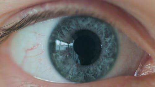 Teen Boy Blue Eye