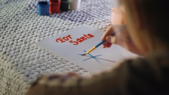 Cover Image for Child Writes a Letter To Santa Claus