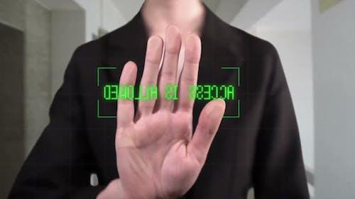 Digital Biometric Fingerprints Scanner