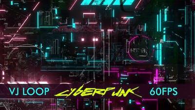 Cyberpunk Dark Vj Loop