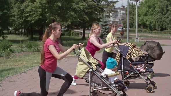 Stroller-Based Workout