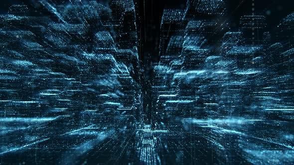 Thumbnail for Futuristic Matrix Cyber Environment 02