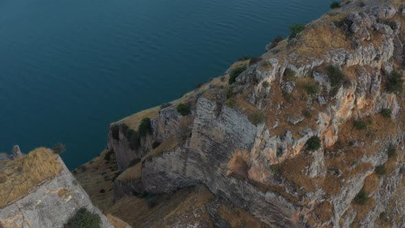 Thumbnail for River In Canyon And Cliffs Aerial View