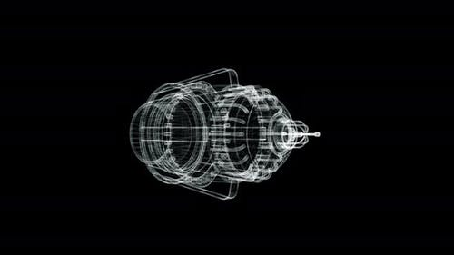 Engine Hologram