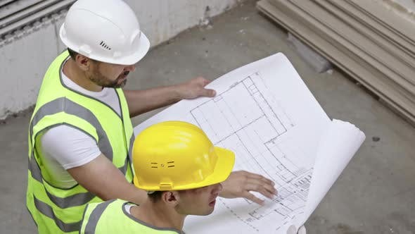 Thumbnail for Two Male Engineers at Work