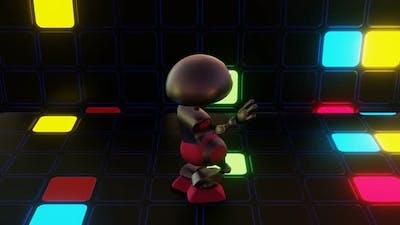 VJ Loop Robot on the Dance Floor