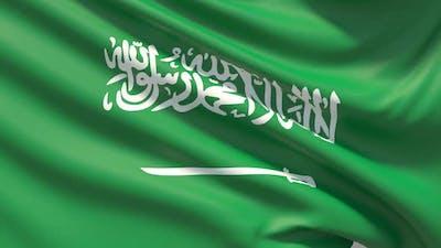 The Flag of Saudi Arabia