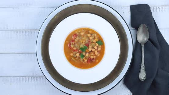 Thumbnail for Chickpea soup
