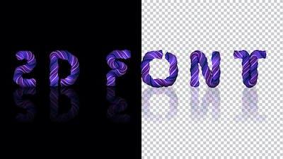 2d Paste Letters