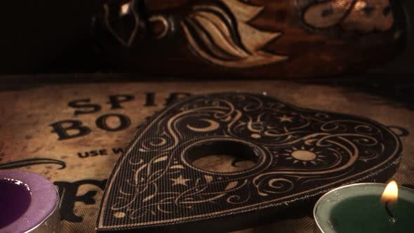 Witchcraft Spiritual Game Ouija Board 10
