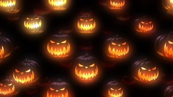 Thumbnail for Halloween Pumpkin 4k 02