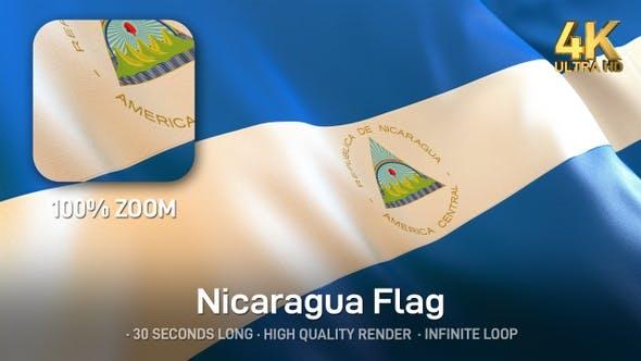 Thumbnail for Nicaragua Flag - 4K