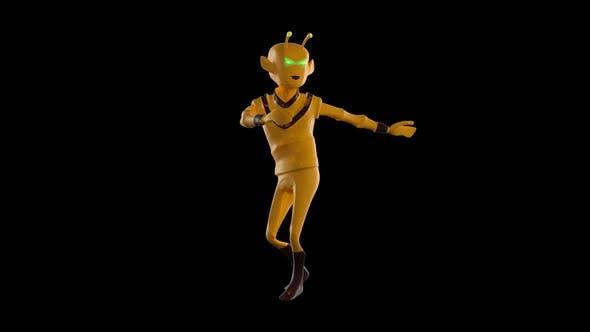 Thumbnail for Alien Funny Dancing