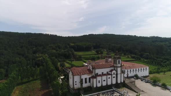 Thumbnail for Old Monastery With Beautiful Nature on Background