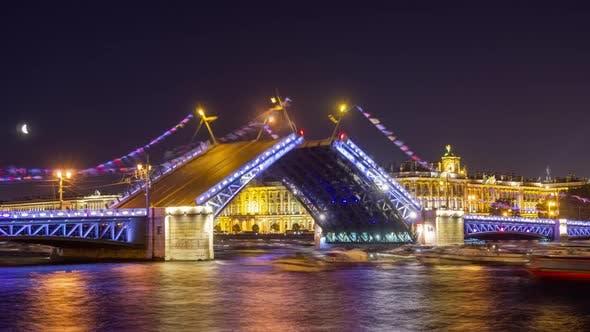 Thumbnail for Drawn Palace Bridge and Winter Palace