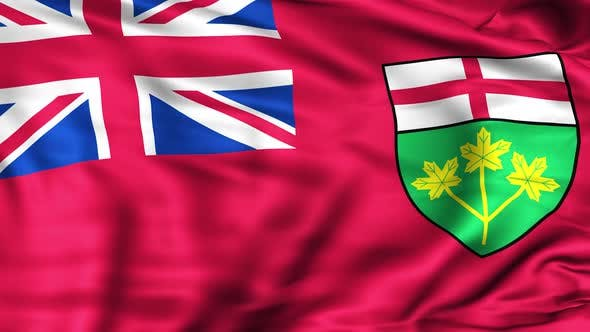 Cover Image for Ontario Province Flag