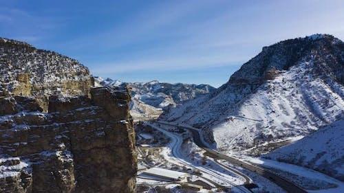Castle Gate Spire in Winter