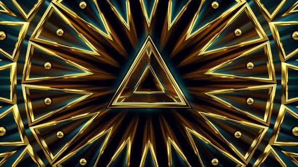 Thumbnail for Triangulars Golden Pattern