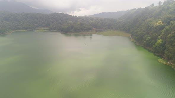 Lake in the Mountains BaliIndonesia
