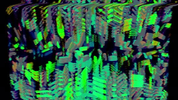 Shimmering Musical Glitch