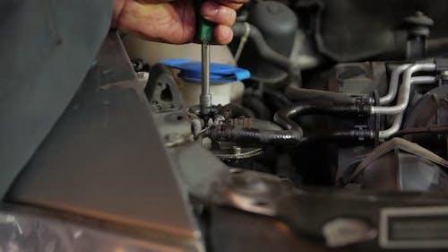 Wartung des Kraftstoffsystem-Filters