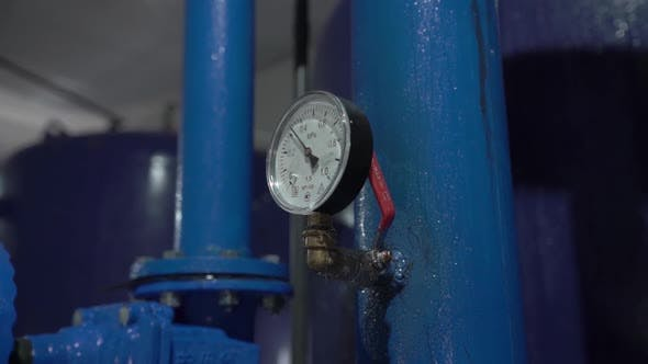 Thumbnail for Water Pressure Meter With Valve