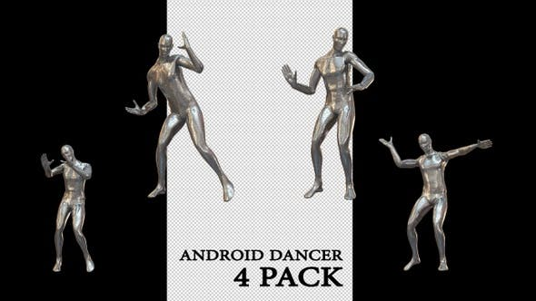 Thumbnail for Android Tänzer 4 Pack