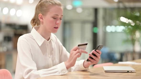 Thumbnail for Online Payment Failure on Smartphone By Young Businesswoman