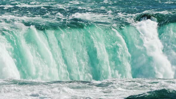 Thumbnail for The Flow of Water in Niagara Falls Is an Amazing Sight of Nature