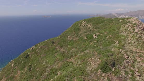 Thumbnail for Flight Over a Mediterranean Island