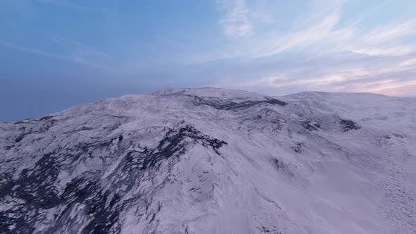 Thumbnail for Magnificent Scenery Of Snow Mountain 4K
