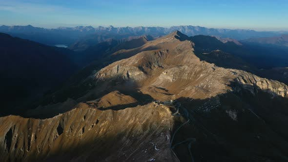 Aerial View Of Edelweissspitze Viewpoint 5