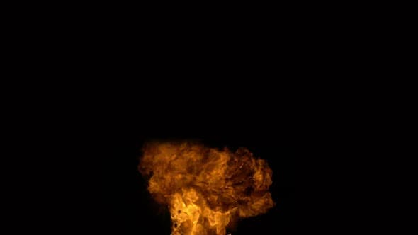 Thumbnail for Explosion on a Black Background