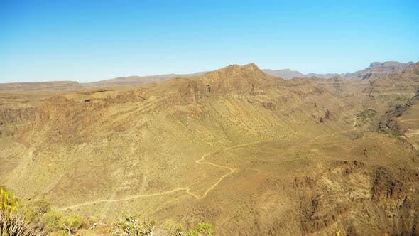 Thumbnail for Gran Canaria View Point of the Beautiful Valley