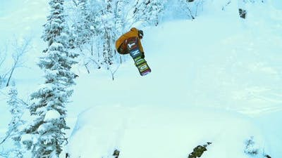 Fall on a Snowboard