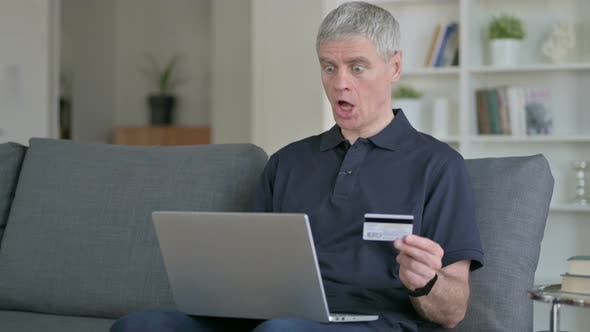 Thumbnail for Online Payment Failure on Laptop By Middle Aged Businessman