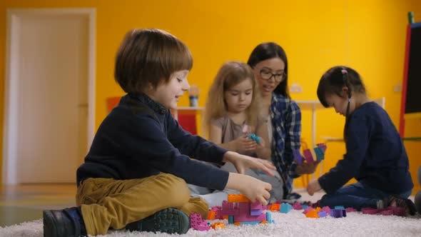 Thumbnail for Joyful Children Enjoying Leisure in Kindergarten