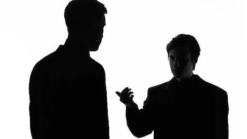 Man Threatening With Gun, Pressure on Business Owner, Blackmail, Money Extortion