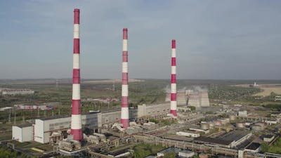 Large Industrial Power Station