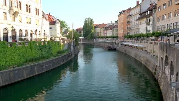 Ljubljanica Streets and River