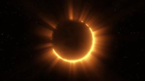 Total Solar Eclipse Effect