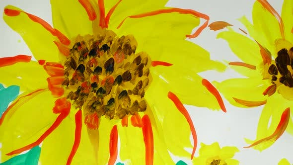 Thumbnail for Draw Sunflowers