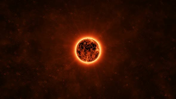 The sun in the Outer Space