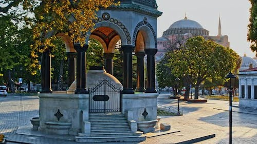 Sultan Ahmed Square in Istanbul