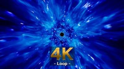 Blue Fire Holes 4K