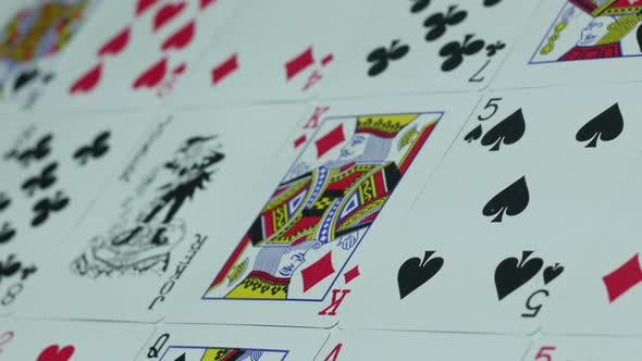 Thumbnail for Modern Deck Of Cards For Playing Poker On The Table In The Casino